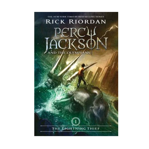 Percy Jackson and the Olympians Series #1: The Lightning Thief (Paperback)