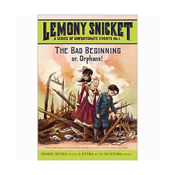 RL 6.4 : A Series of Unfortunate Events #1: The Bad Beginning (Paperback)