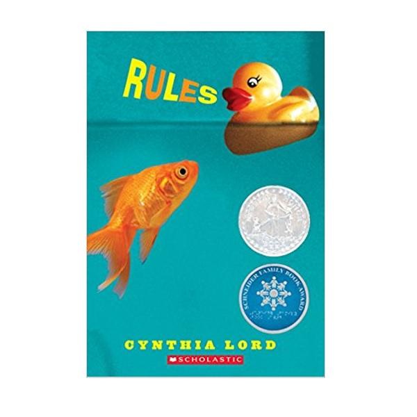 [2007 뉴베리] Rules 우리들만의 규칙 (Paperback, Newbery)