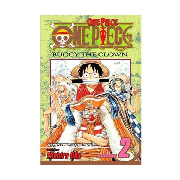 One Piece #2 : Buggy the Clown (paperback)