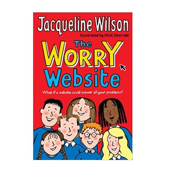 Jacqueline Wilson 저학년 : The Worry Website (Paperback, 영국판)