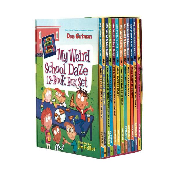My Weird School Daze 챕터북 12권 Box Set (Paperback)(CD없음)