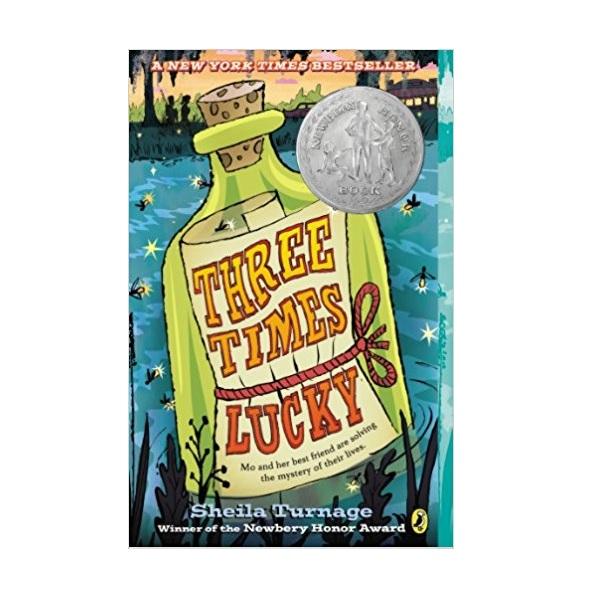 [모닝캄 2013-14] Three Times Lucky (Paperback,Newbery)