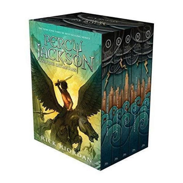 Percy Jackson and The Olympians #01-5 Books Boxed Set (Paperback)(CD미포함)