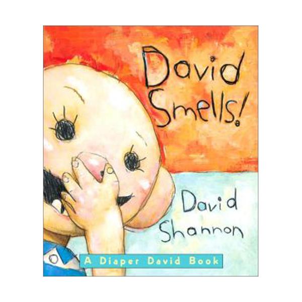 David Smells! : A Diaper David Book (Board Book)