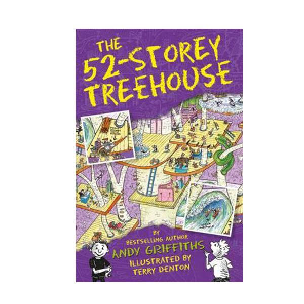 나무집 52층 : The 52-Storey Treehouse Books (Paperback, 영국판)