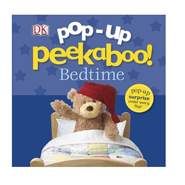 Bed time : Peekaboo! Pop-up (Board book, 영국판)