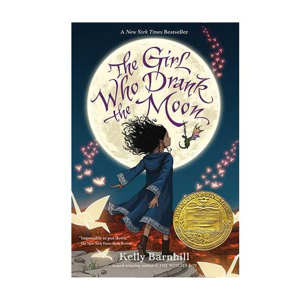[2017 뉴베리] The Girl Who Drank the Moon (Paperback, Newbery)