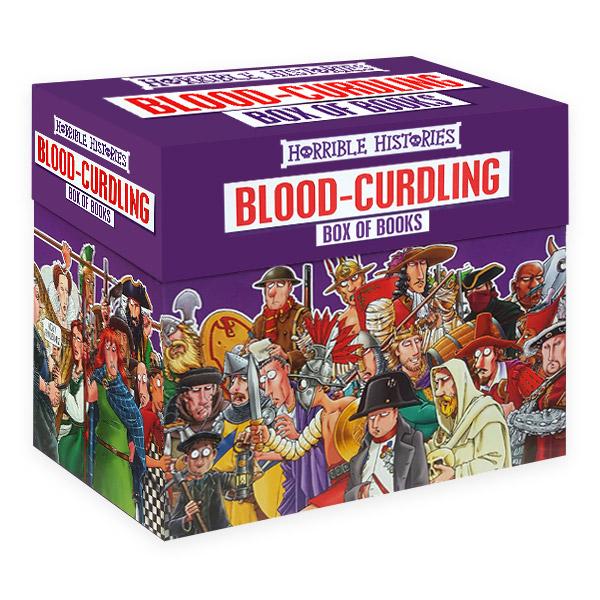 [특가세트] 호러블 히스토리 : Horrible Histories Blood-Curdling Box of 20 Books (Paperback)(CD미포함)