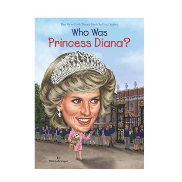 RL 6.0 : Who Was Princess Diana? (Paperback)