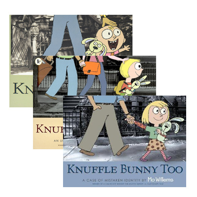 Mo Willems : Knuffle Bunny 3종 Set (Paperback, 3권)