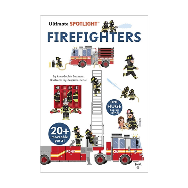 Ultimate Spotlight: Firefighters (Hardcover)