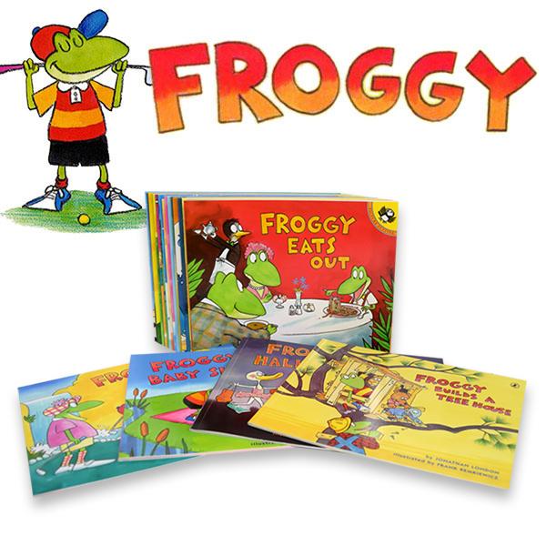 ☆윈터세일☆ [공동구매] Froggy(프로기) 픽쳐북 25종 세트 (Paperback)