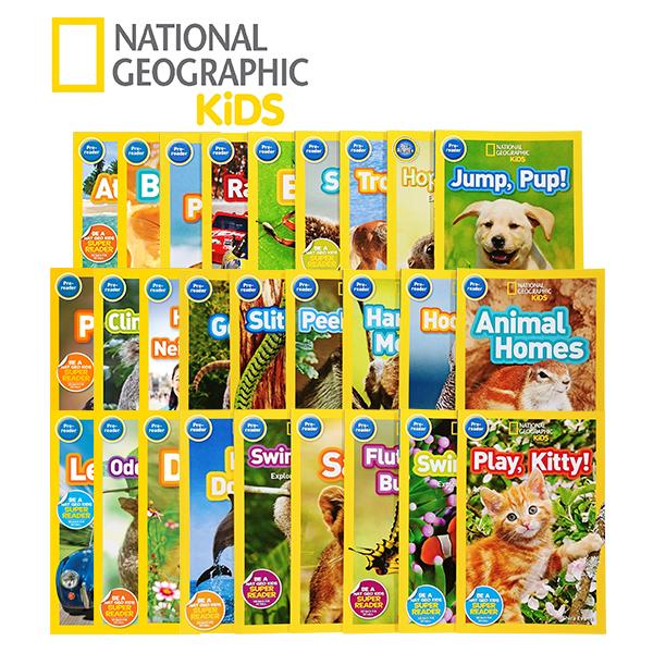 National Geographic Kids 리더스북 Pre레벨 27종 세트 (Paperback)