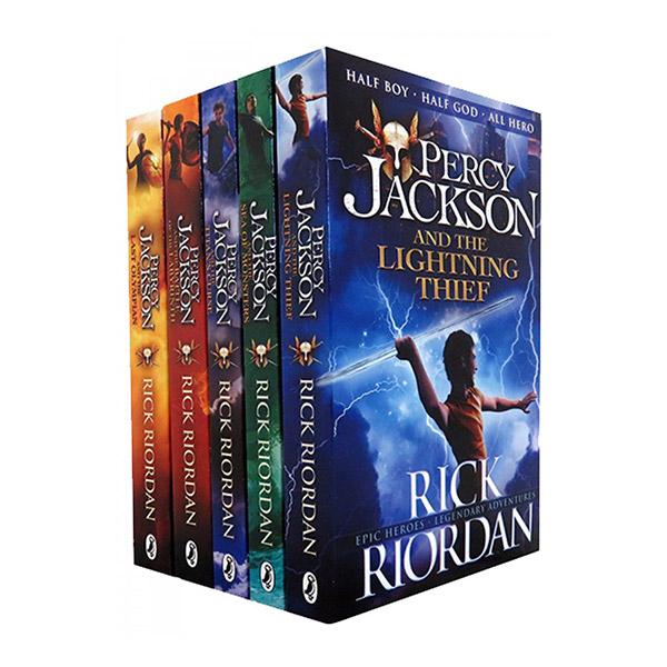 [특가세트/영국판] Percy Jackson Ultimate Collection 5 Books Set (Paperback, 5권)