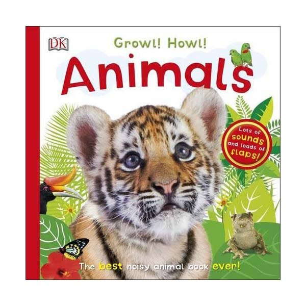 Growl! Howl! Animals (Board book, Sound Book, 영국판)