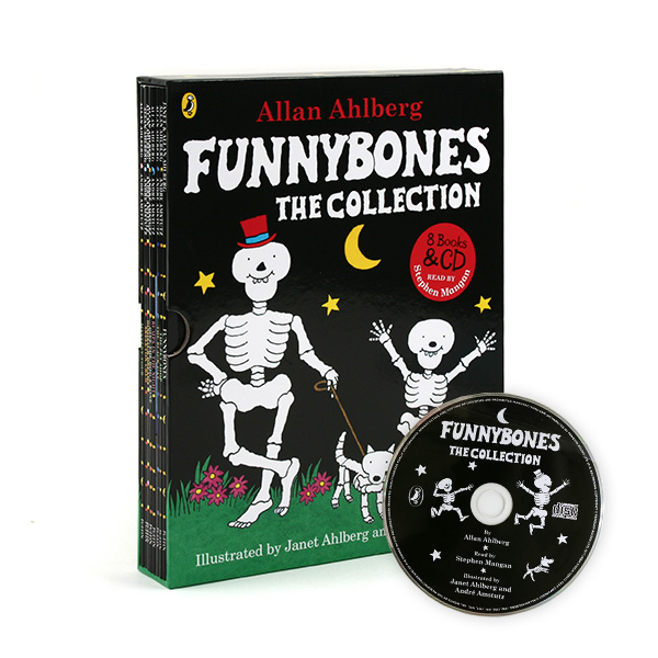 [특가세트] Funnybones the Collection 8 Books & Audio CD (Paperback, 영국판)