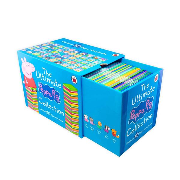 [★할인&사은품] The Ultimate Peppa Pig Collection : 픽쳐북 50종 Box Set (Paperback, 영국판)(CD없음)