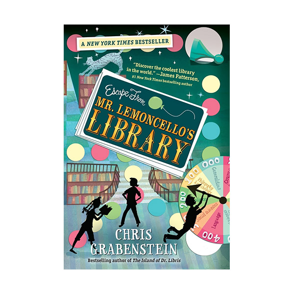 [모닝캄 2015-16 위너] RL 4.5 : Escape from Mr. Lemoncello's Library (Paperback)