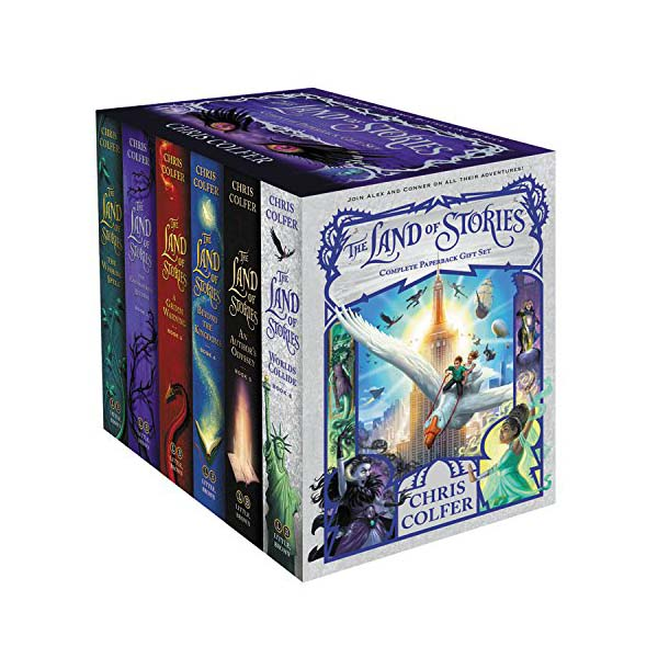 The Land of Stories Complete Paperback Gift Set : #01-6 Books Box (Paperback)(CD미포함)