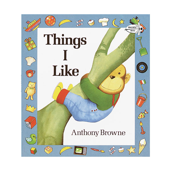 Anthony Browne : Things I Like (Paperback)