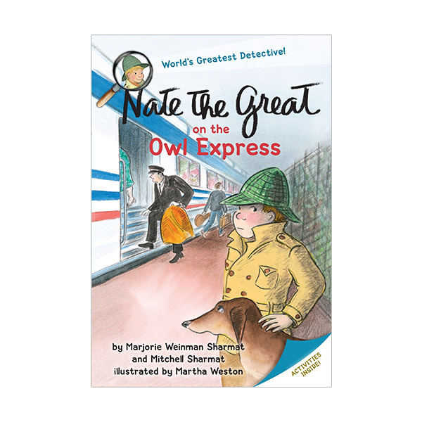 Nate the Great on the Owl Express (Paperback)