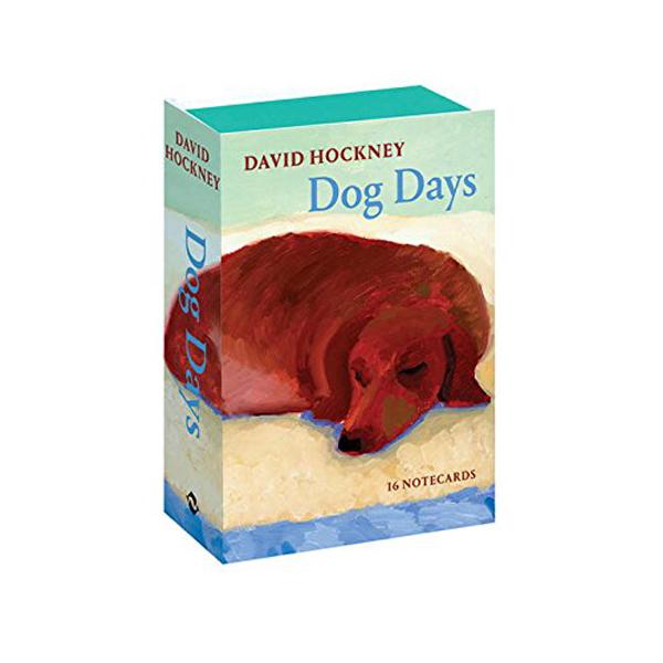 David Hockney Dog Days : Notecards (Postcard Set)