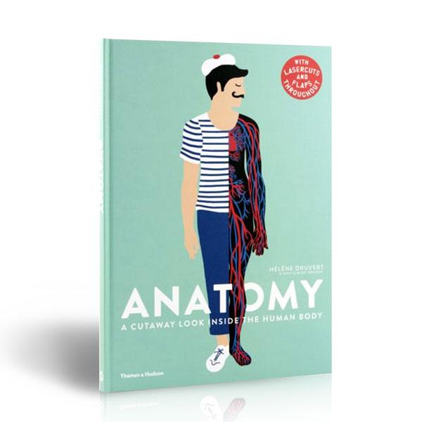 [가격인하] Anatomy : A Cutaway Look Inside the Human Body (Hardcover, 영국판)