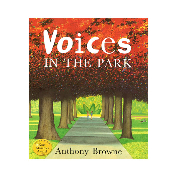 RL 2.8 : Anthony Browne : Voices in the Park (Paperback, 영국판)