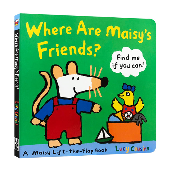 Where Are Maisy's Friends? : A Maisy Lift The Flap (Board book)