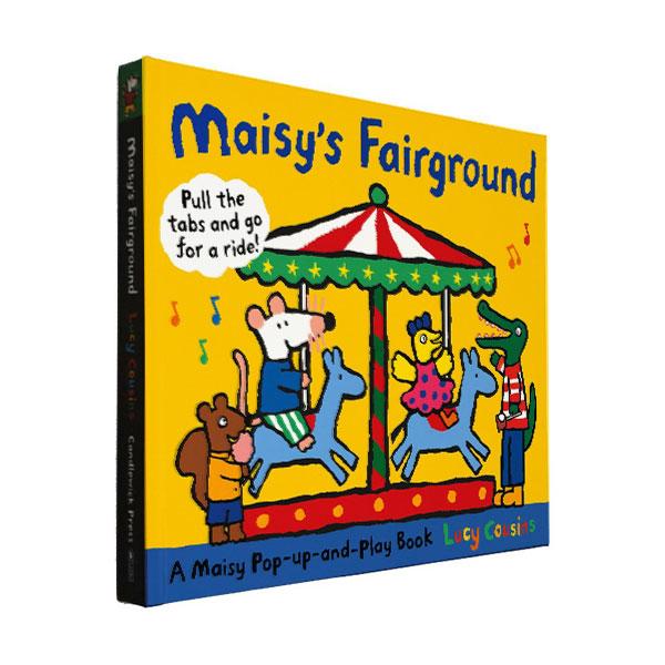 ★키즈코믹콘★Maisy's Fairground : A Maisy Pop-up-and-Play Book (Hardcover,Pop-up)