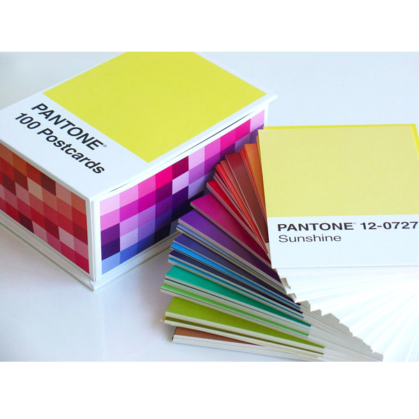 Pantone Postcard Box : 100 Postcards (Boxed)