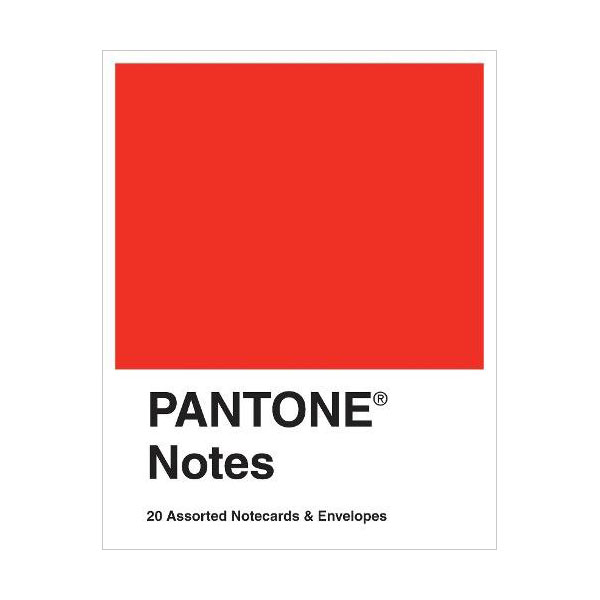 Pantone Notes : 20 Assorted Notecards & Envelopes (Cards)