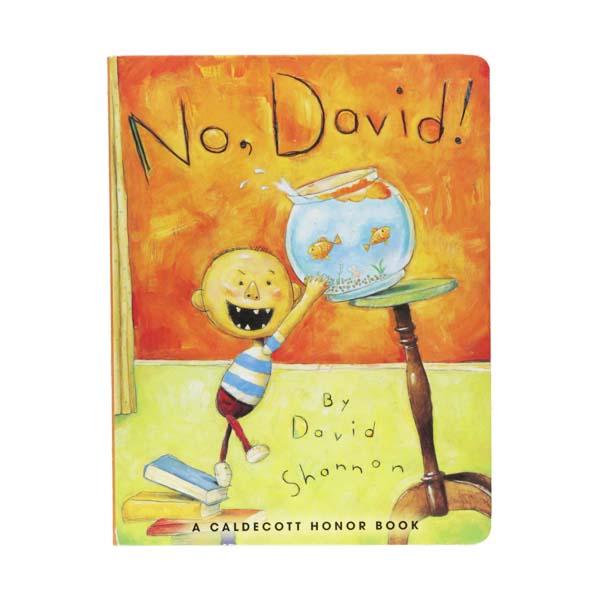 [1999 칼데콧] No David! (Board Book)