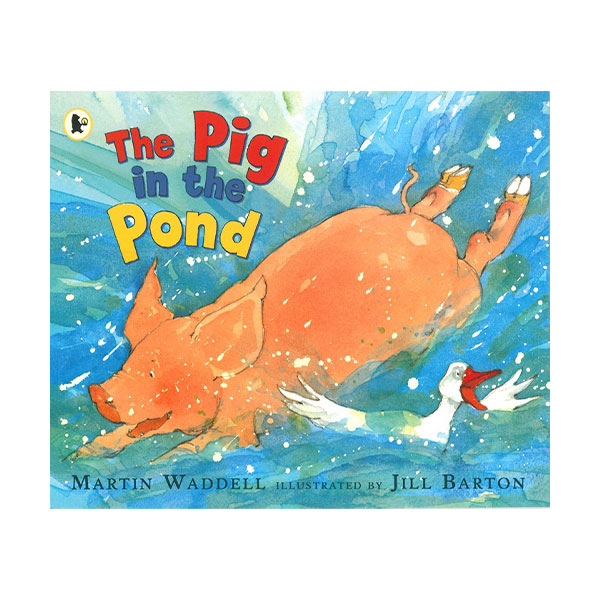 Pictory - The Pig in the Pond (Book & CD)