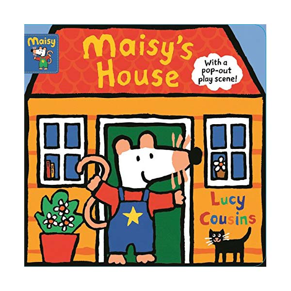 찍찍★[특가] Maisy's House : with a pop-out play scene (Board book, 영국판)
