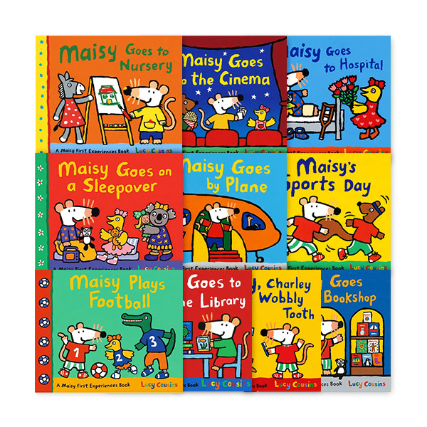 [특가세트] Maisy First Experiences Pack (메이지) 페이퍼백 10종 세트 (Paperback)(CD미포함)