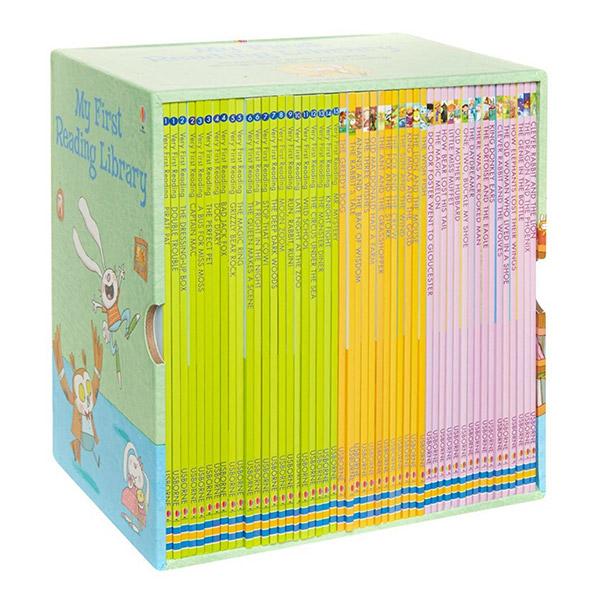 [특가세트/영국판] Usborne My First Reading Library 50종 리더스 Box Set (Paperback)(CD없음)