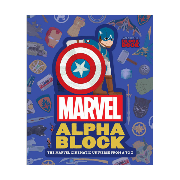 Marvel Alphablock : Block Book : The Marvel Cinematic Universe from A to Z (Board book)
