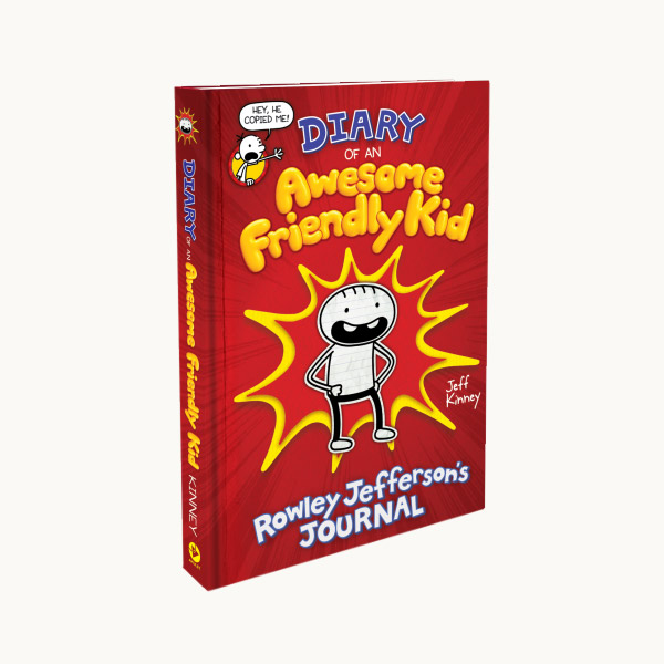 Diary Of An Awesome Friendly Kid Rowley Jefferson S Journal Hardcover 미국판