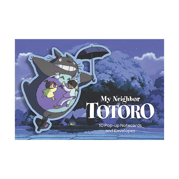 My Neighbor Totoro : 10 Pop-Up Notecards and Envelopes (Cards)