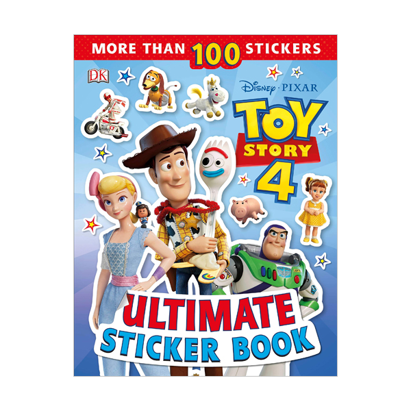Disney Pixar Toy Story 4 Ultimate Sticker Book (Paperback)