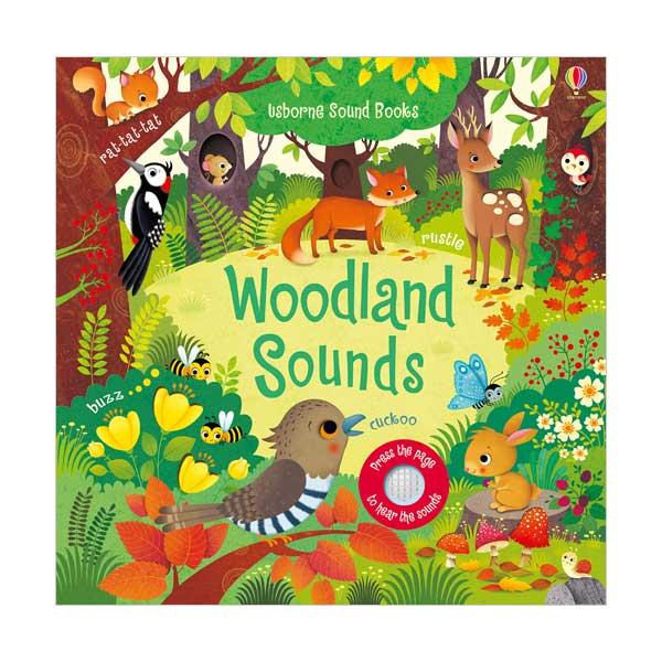 Usborne Noisy Books : Woodland Sounds (Board book, Sound Book, 영국판)