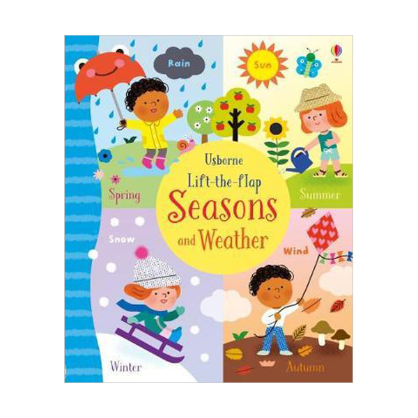 Lift-the-Flap Seasons and Weather (Board book, 영국판)