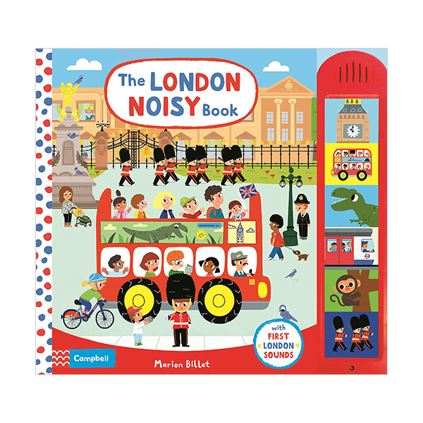 The London Noisy Book (Sound Board book)