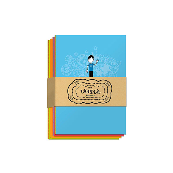 Four Wonder Notebooks : Draw, Dream, Doodle and Write (Notes)