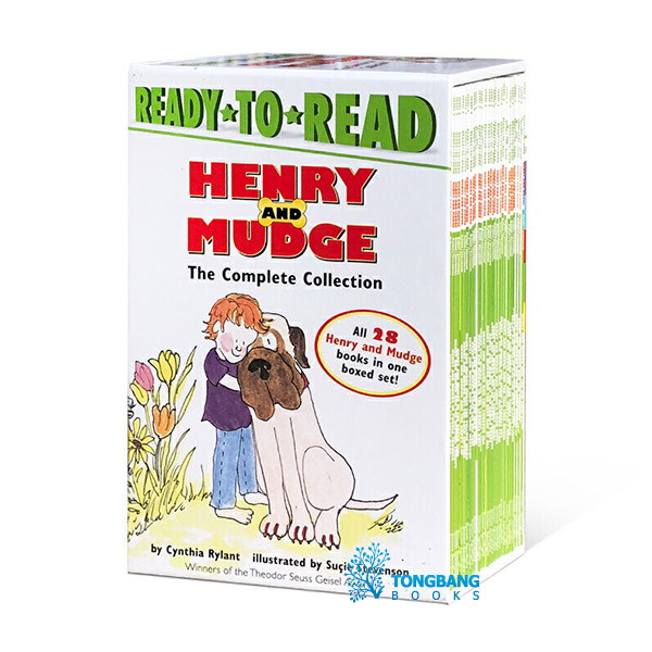 Ready To Read Level 2 : Henry and Mudge The Complete Collection 리더스 28종 세트 (Paperback)(CD없음)