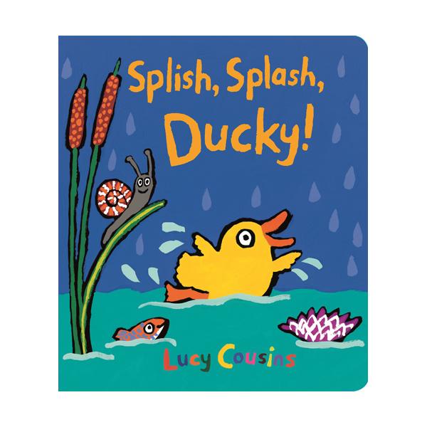 Splish, Splash, Ducky! (Board book)