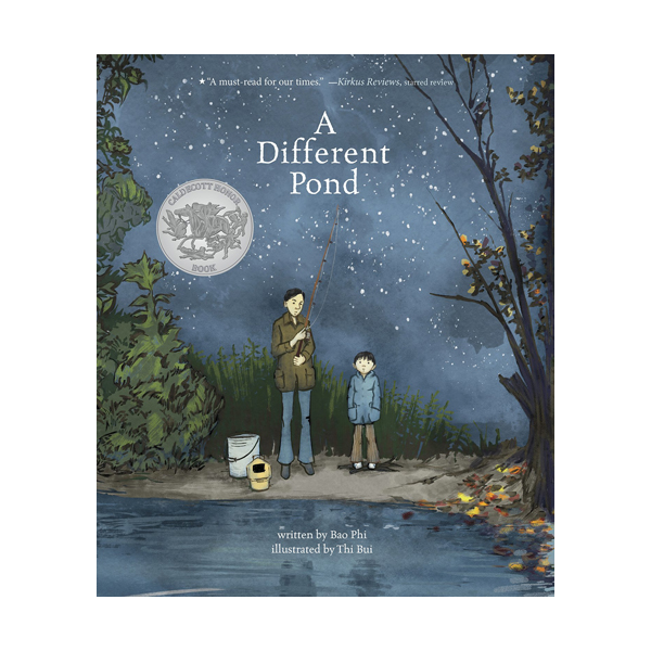 [2018 칼데콧] A Different Pond (Hardcover)
