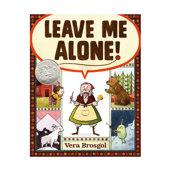 [2017 칼데콧] [모닝캄 2017-18] Leave Me Alone! (Hardcover)
